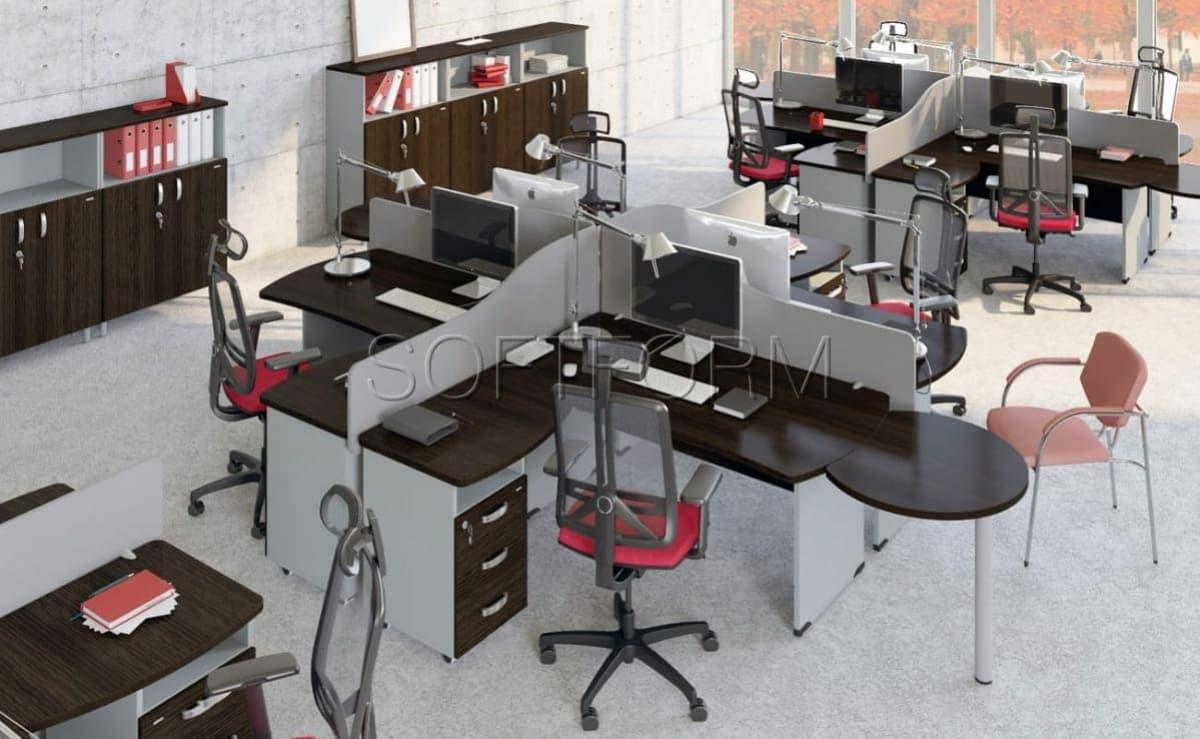Коллекция офисной мебели для персонала Берлин