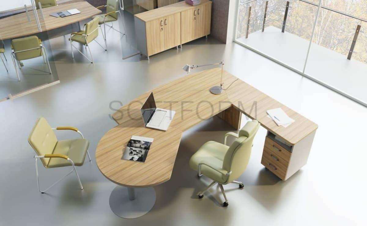 Коллекция офисной мебели для руководителей Берлин Директор