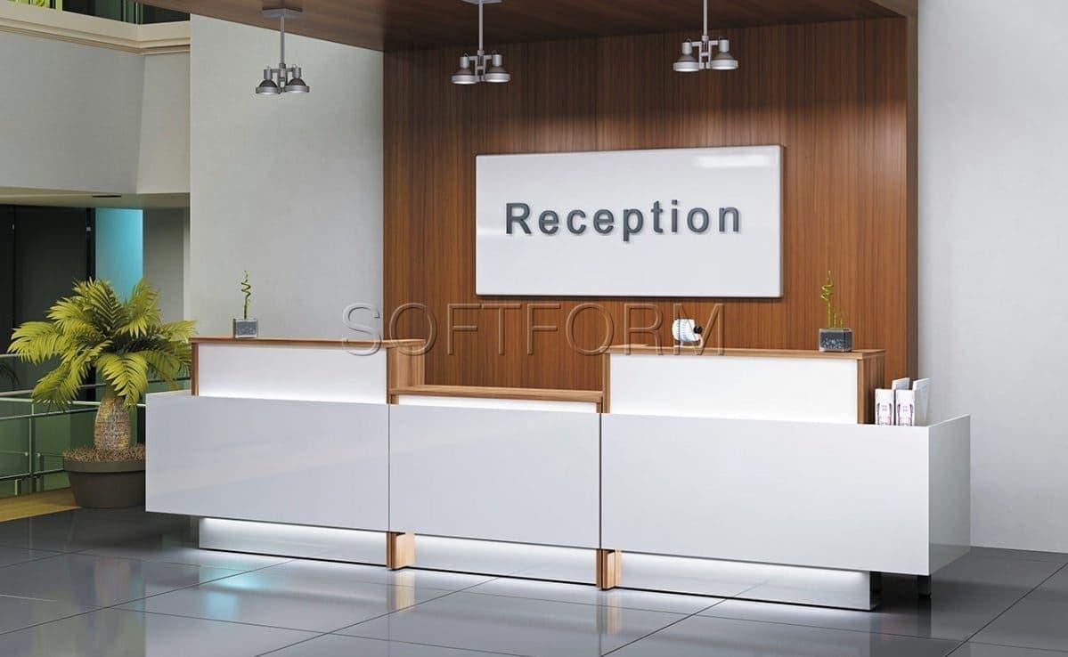 Комплексный офис Берлин Ресепшн