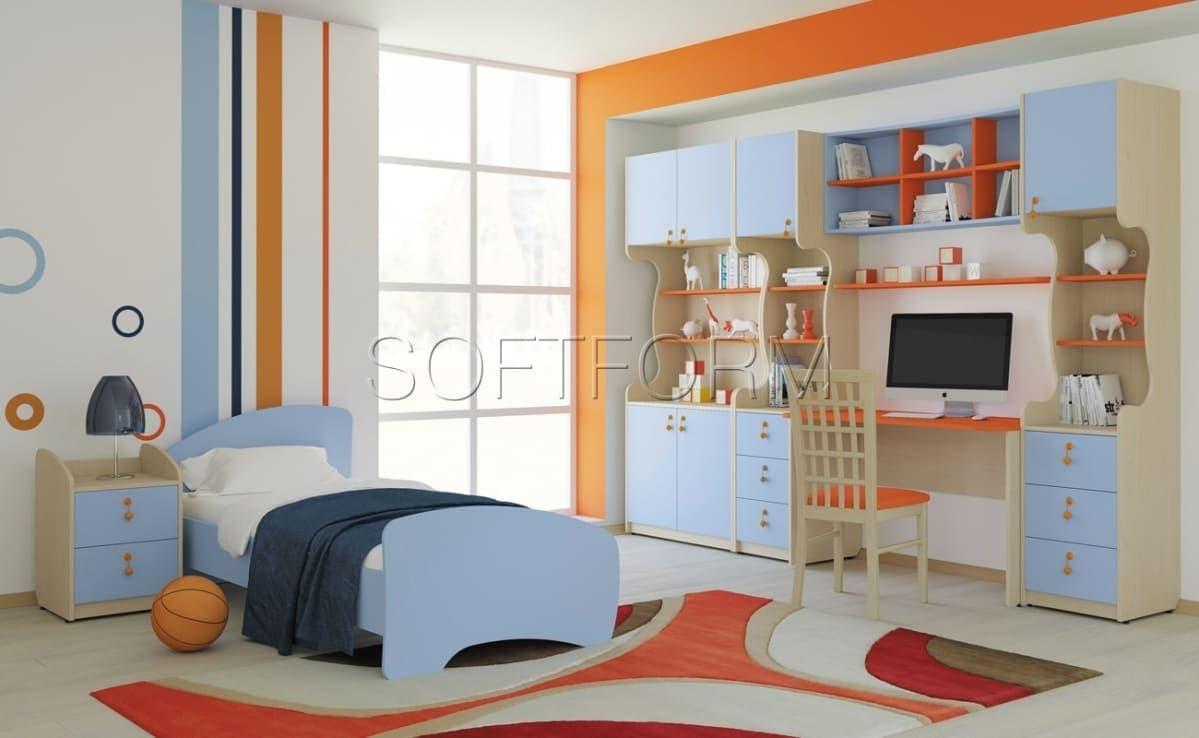 Коллекция мебели для детской комнаты Миа