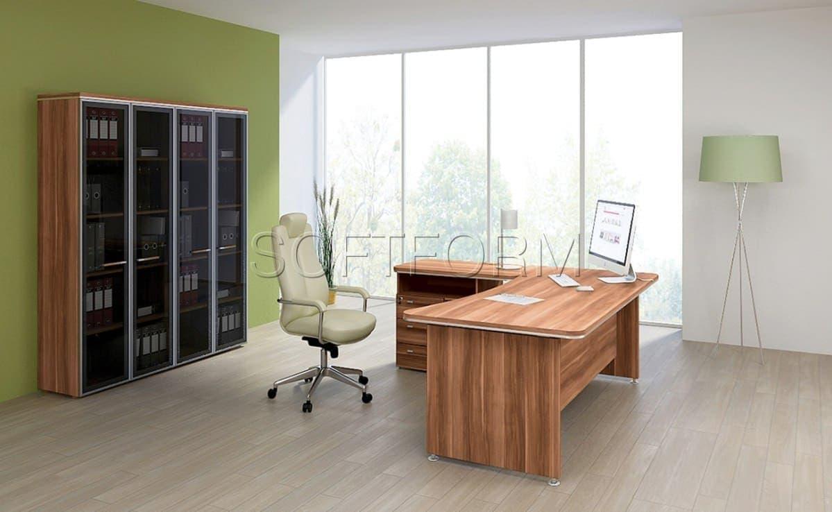 Коллекция офисной мебели для руководителей Вельс