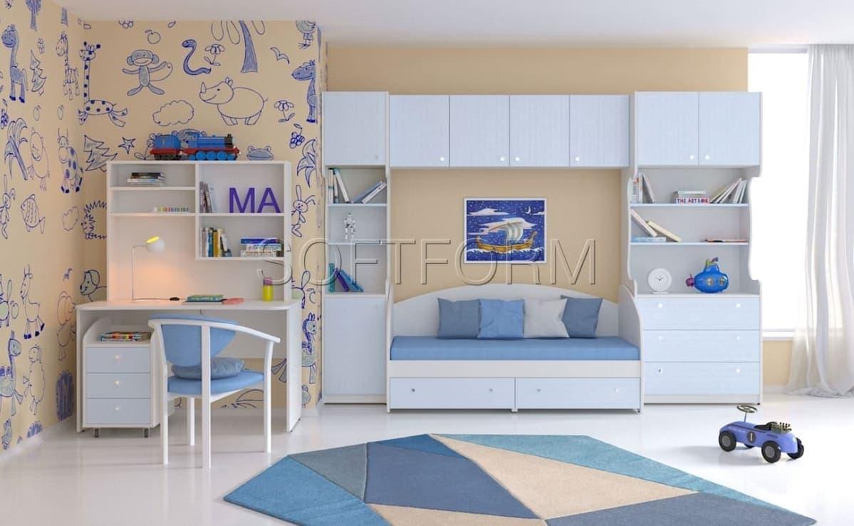 Коллекция мебели для детской комнаты МИА MATEX